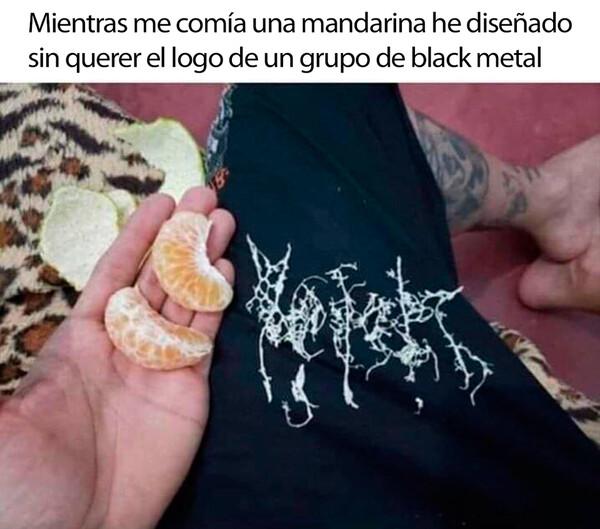 Meme_otros - Mandarina metal