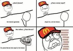 Enlace a Trolleando en el McDonalds