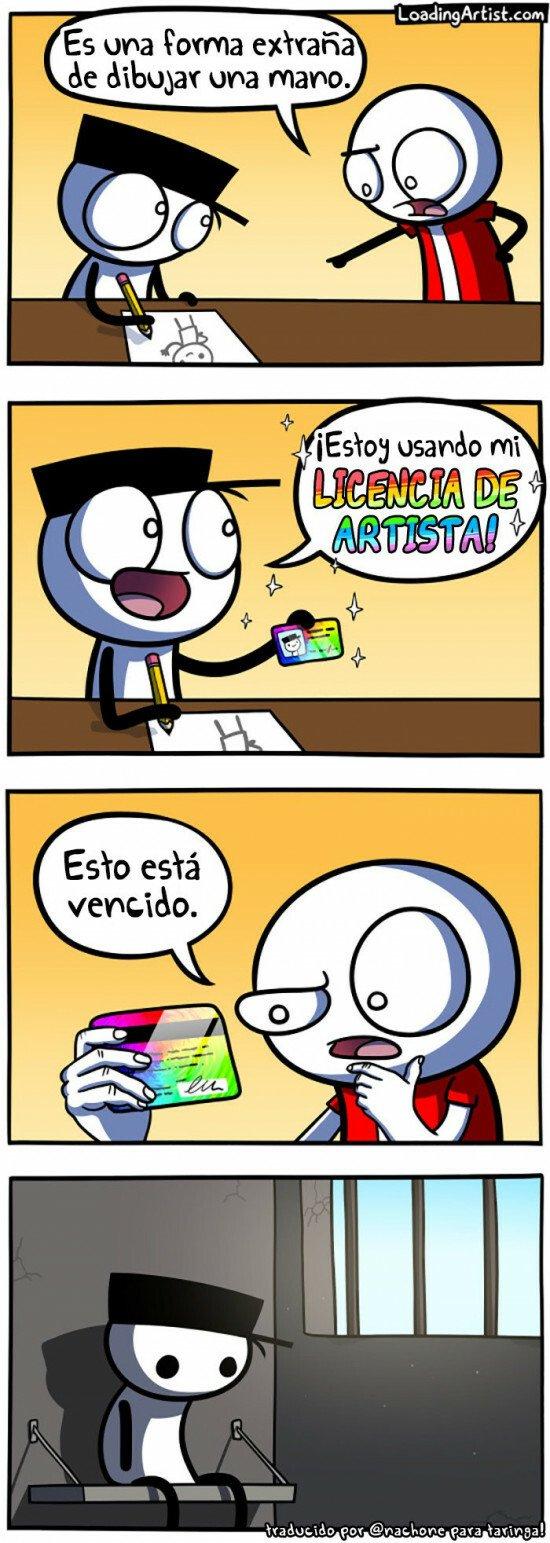 Otros - Licencia artística