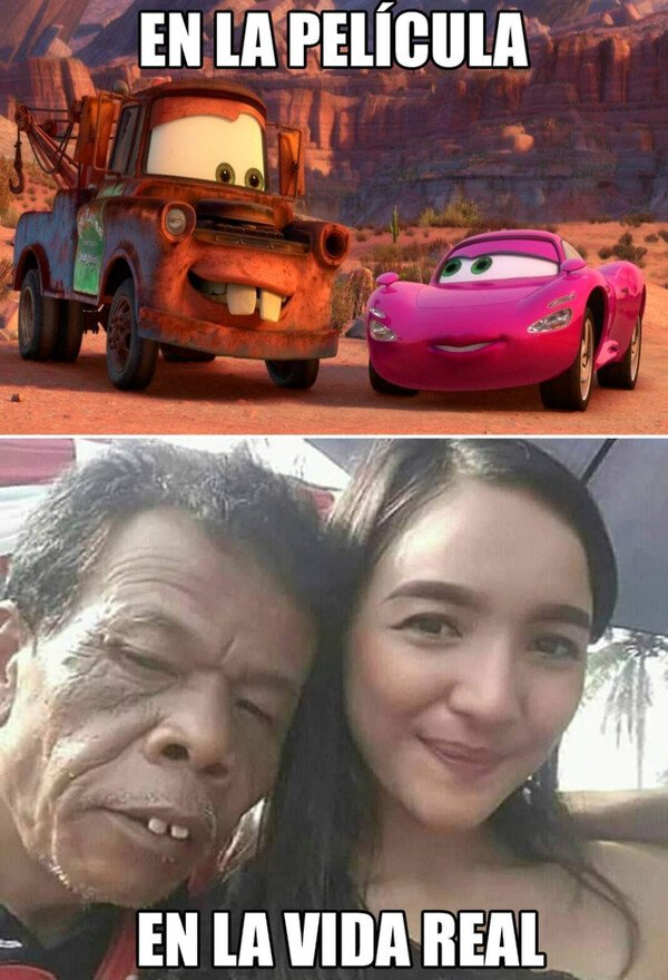 Meme_otros - Disney prepara un live action de CARS