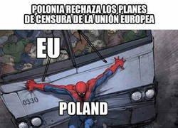 Enlace a Polonia echándole más huevos que nadie