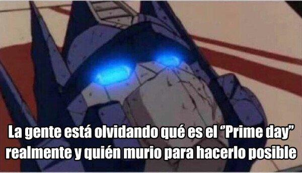 Meme_otros - Bendito sea Optimus Prime