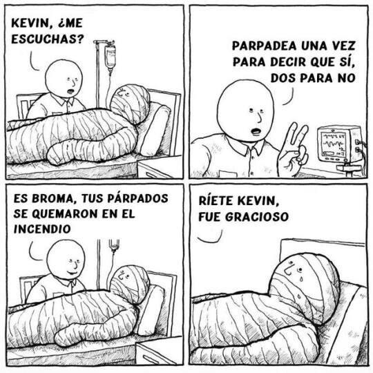 Otros - ¡Parpadea Kevin!