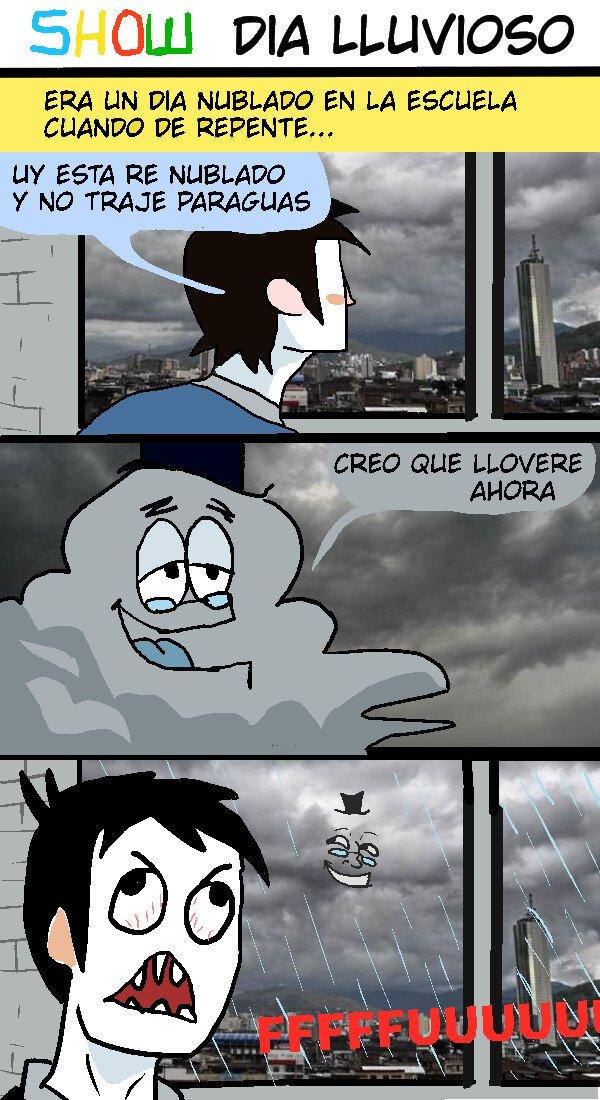 Ffffuuuuuuuuuu - Un dia lluvioso