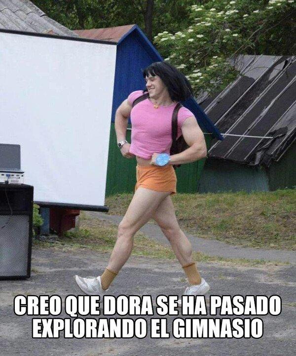 Meme_otros - Dora la vigoréxica