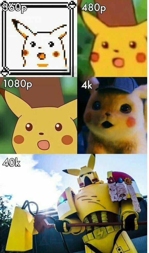Meme_otros - Pikachu 40k