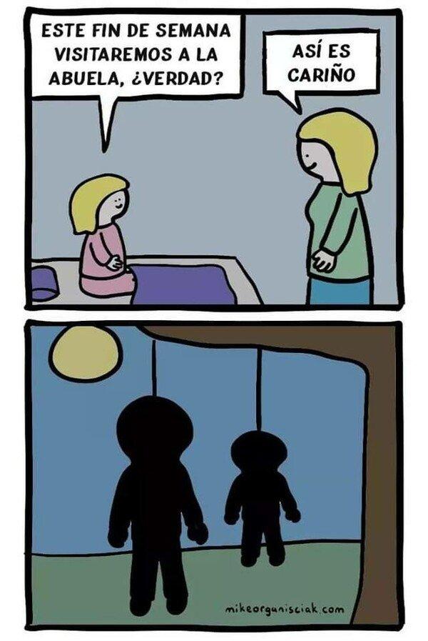Otros - humor más negro que mi futuro