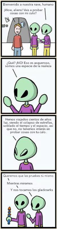 Otros - Pruebas alienígenas