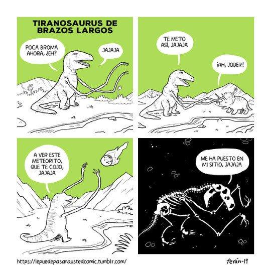 Otros - T-Rex de brazos largos