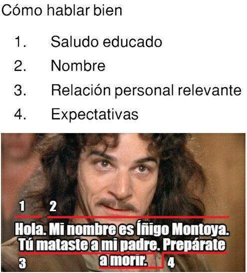Meme_otros - Sé como Íñigo Montoya