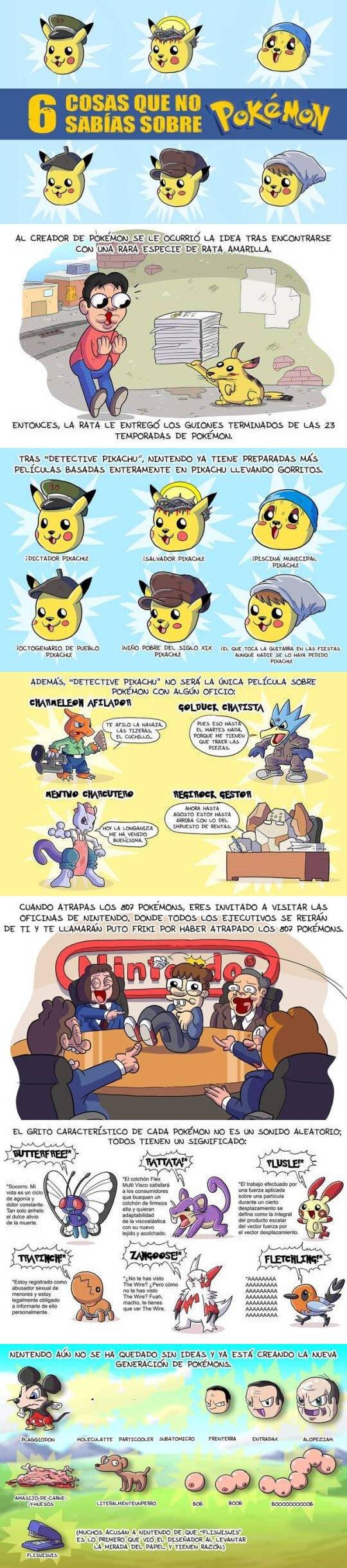 Otros - Historia pokémon