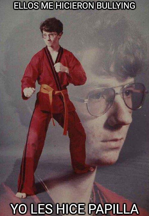 Karate_kyle - La venganza de los frikis