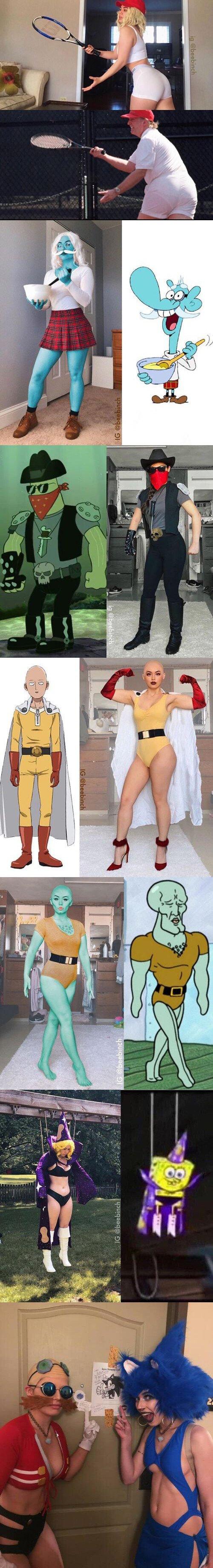 Meme_otros - Beebinch, la cosplayer definitiva