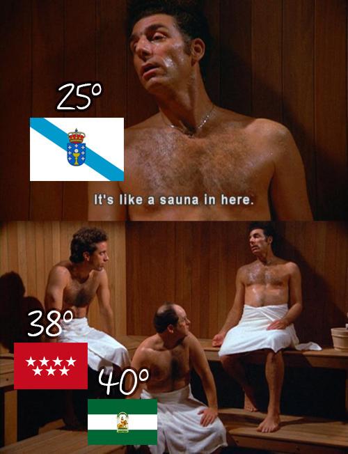 Meme_otros - Ellos no saben lo que es el calor de verdad