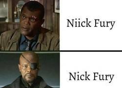 Enlace a Las evoluciones de Nick Fury
