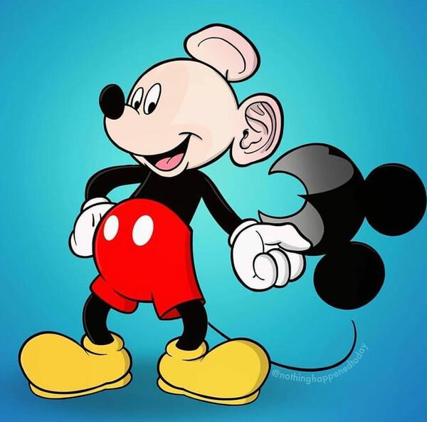 Meme_otros - Mickey es el primero en escapar del Área 51 y labrarse un futuro