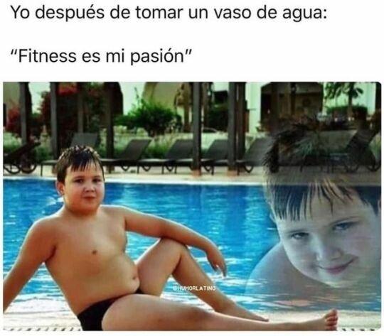 Meme_otros - El fitness es mi pasión