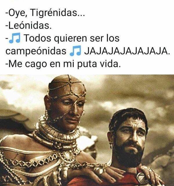 Meme_otros - No estás en la mejor posición para vacilarme, Leónidas