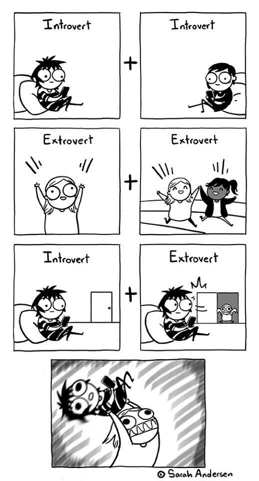 Otros - La compatibilidad entre introvertidos y extrovertidos