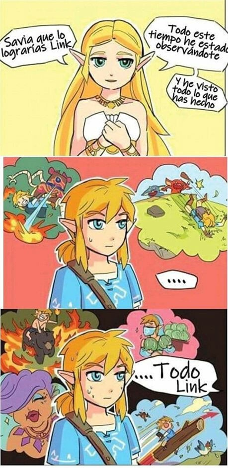 Otros - Zelda omnipresente