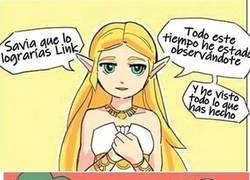 Enlace a Zelda omnipresente