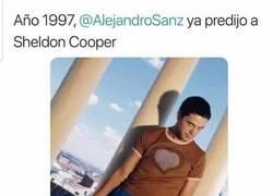 Enlace a A Sheldon ya lo predijo Alejandor Sanz
