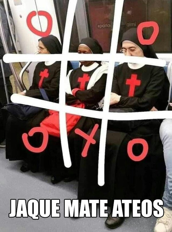 Meme_otros - Jaque mate ateos