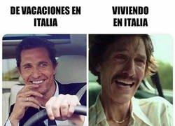 Enlace a Las dos caras de Italia