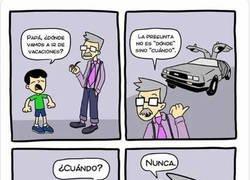 Enlace a Me he gastado todos los ahorros en un DeLorean