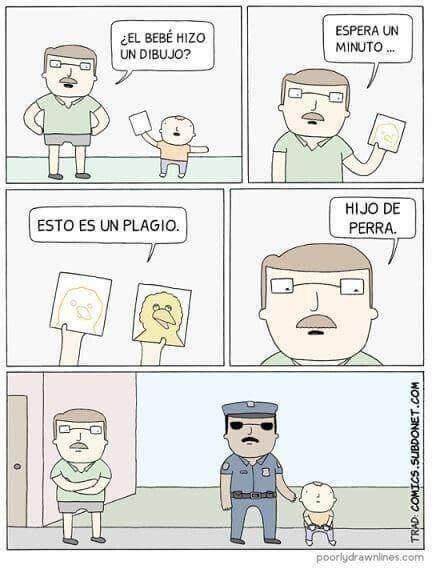 Otros - La policia del plagio