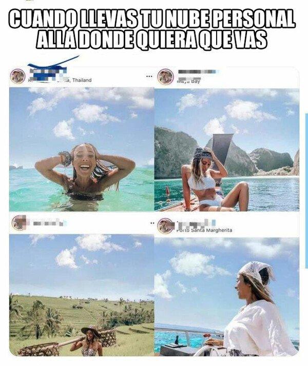 Meme_otros - Para qué quiero un novio cuando tengo mi nube