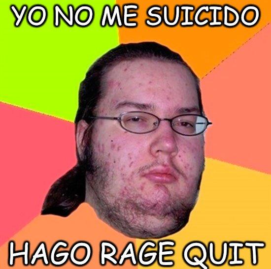 Gordo_granudo - RAGE SUICIDE
