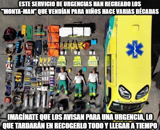 Meme_otros - Sí muy original y creativo, pero luego las ambulancias nunca llegan a tiempo y por algo será...