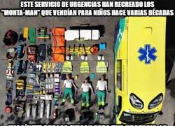 Enlace a Sí muy original y creativo, pero luego las ambulancias nunca llegan a tiempo y por algo será...
