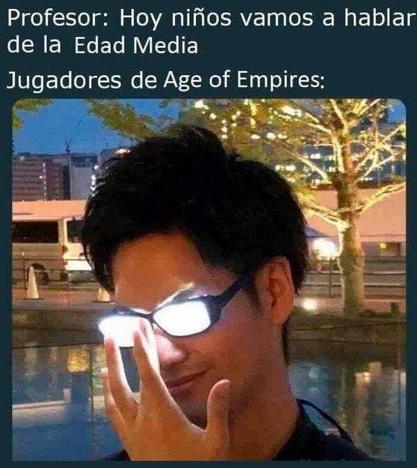 Meme_otros - El Age of Empires me lo confirmó