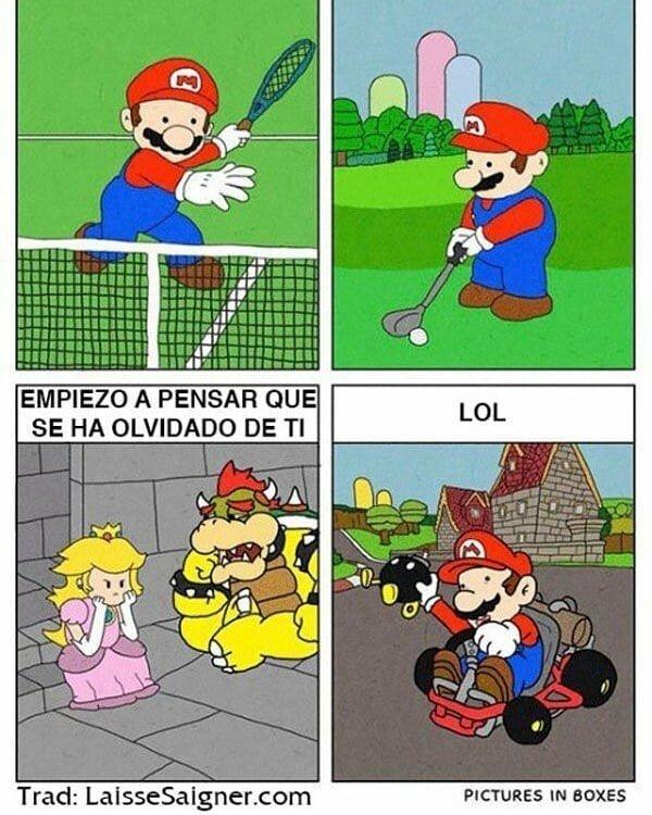 Otros - Mario, centrate