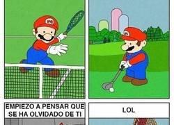 Enlace a Mario, centrate