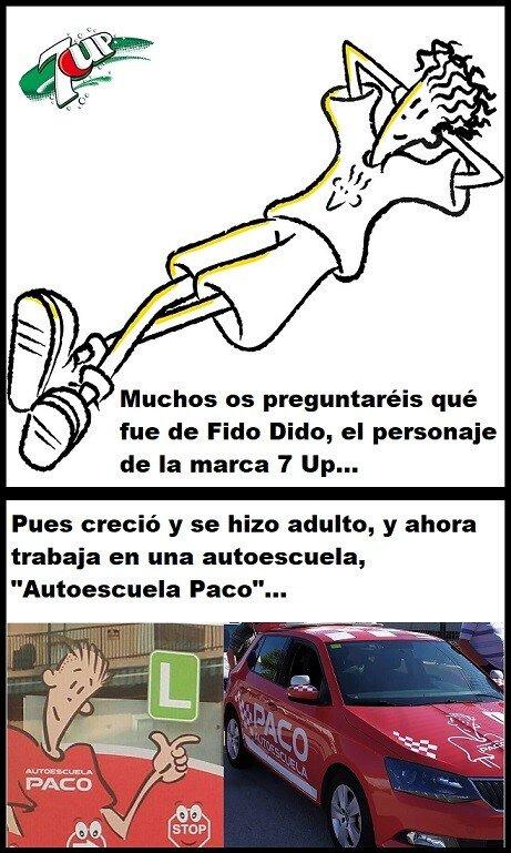 Meme_otros - El nuevo trabajo de adulto de Fido Dido...
