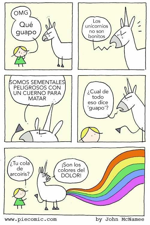 Otros - Los unicornios no son guapos