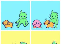 Enlace a ¡Kirby no!
