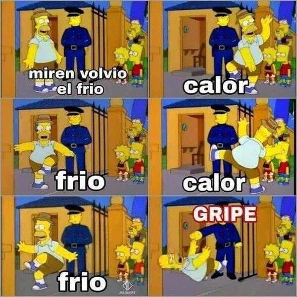 Meme_otros - Calor, frio, gripe