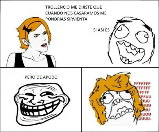 Trollface - La sirvienta