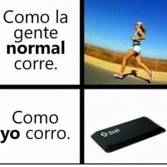 Meme_otros - Formas de correr