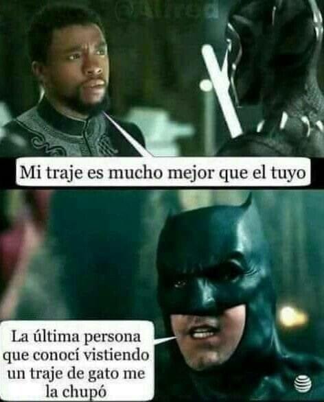Meme_otros - Si Catwoman era una fiera no me quiero imaginar Pantera Negra