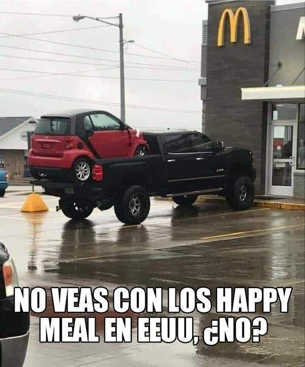 Meme_otros - Happy meals versión 'murrika'