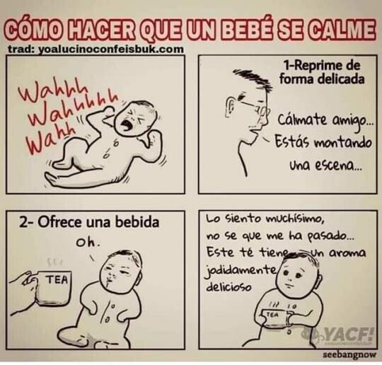 Otros - Cómo hacer que un bebé se calme