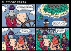 Enlace a El tesoro pirata, en la bahía del pirata