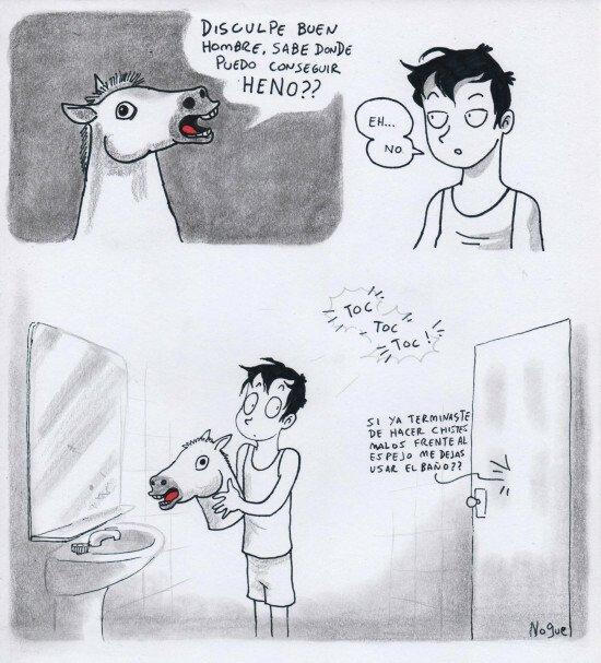 Otros - Todos hacemos el imbecil frente al espejo