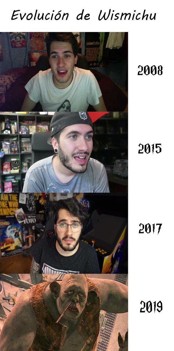 Adn_troll - Evolución de wismichu y su oreja