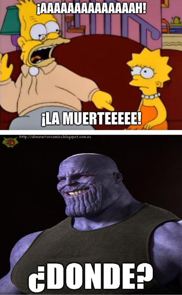 Meme_otros - ¡Aaaaaaah! ¡La muerteeeee!
